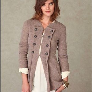 Free People Military Moments Cardigan